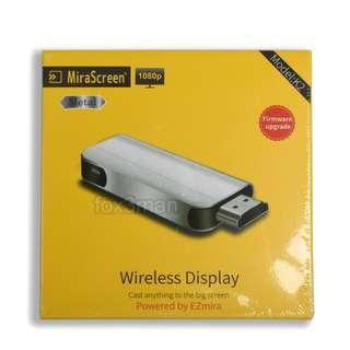 Mirascreen K2 WIFI Display Dongle 手機高清電視同屏傳送器 支援IOS 11