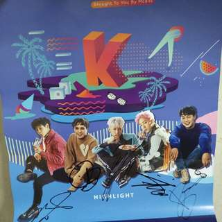 kwave Highlight Poster (signature)