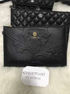 Ready stock. Versace Clutch