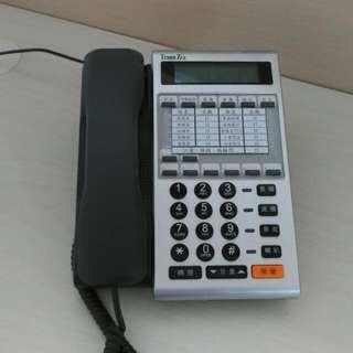 Transtel電話總機,4外線8內線,可擴充到8外線24內線