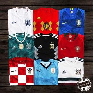 World Cup 2018 Jerseys!