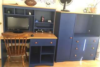 Boys bedroom set including mattress and box spring