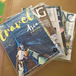 Expat Living Magazine October to March issues