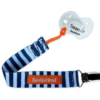 BooginHead Pacifier Strap - Nautical Blue