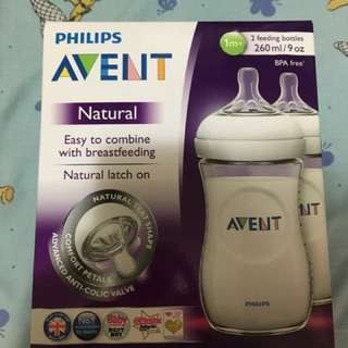 Philips Avent Natural 9oz 2pk