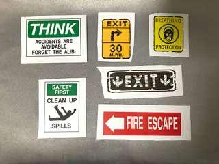 Stickers E