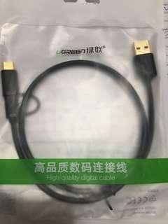 UGREEN Micro-USB + Type-C Cable