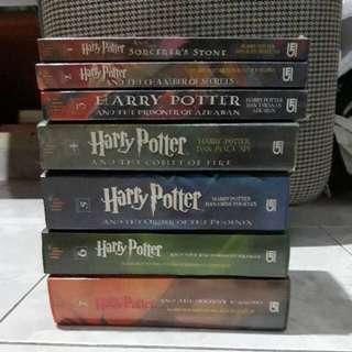 Novel harry potter 1set