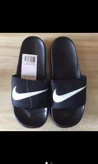 Maong nike slippers