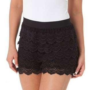 NEW Lacey black shorts