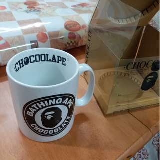 BATHING APE Baby Milo Bape Chocoolate Cup Supreme Neighborhood Visvim Japan Aape Y3 Franc Star Wars 咖啡杯