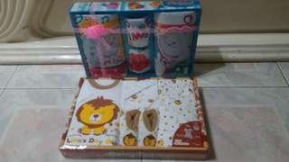 Gift set handuk dan Baju newborn