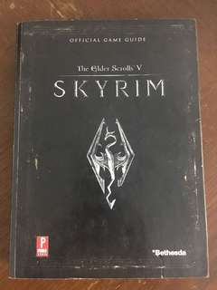 Skyrim , the elder scrolls V guide book