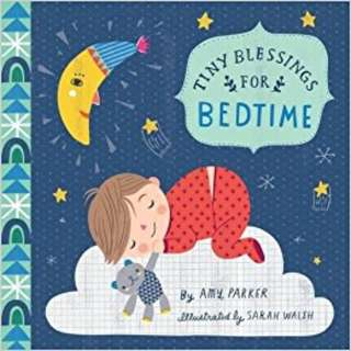 [Brand New - Board Book] Tiny Blessings: For Bedtime by Amy Parker and Running Press