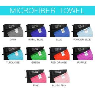 Microfiber Towels (Compact, Quick Dry, Light Weight)