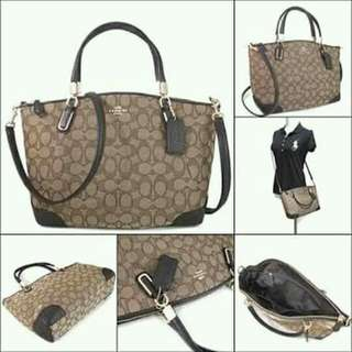 AUTH COACH KELSEY CANVAS