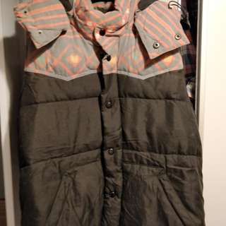 Hare down jacket, size m