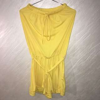 Repriced Yellow Jumpsuit