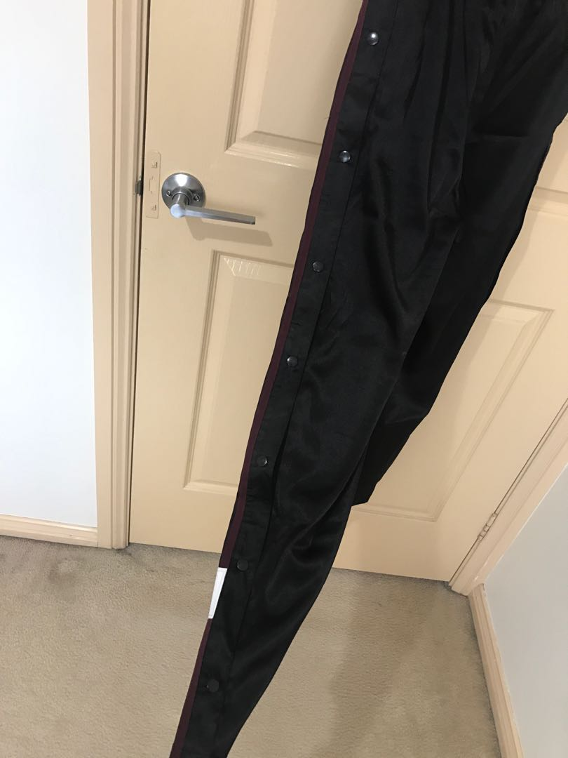 Adidas adibreak satin popper pants