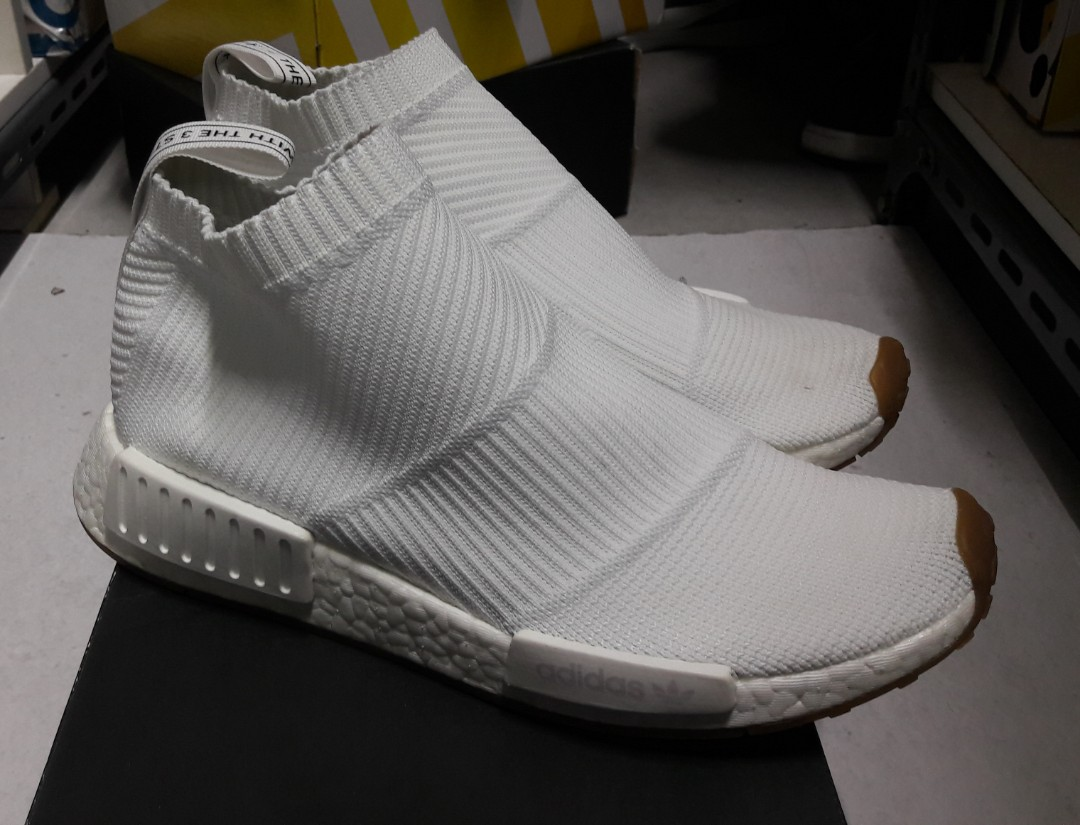 on sale cf493 7a0be adidas NMD City Sock 1 WHITE/GUM