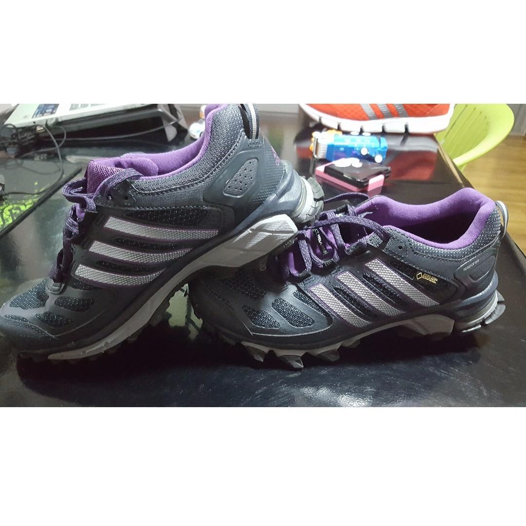 4445b7b72f Adidas Response Trail 20 Women's Gore-Tex Running Shoes Gray Grau ...