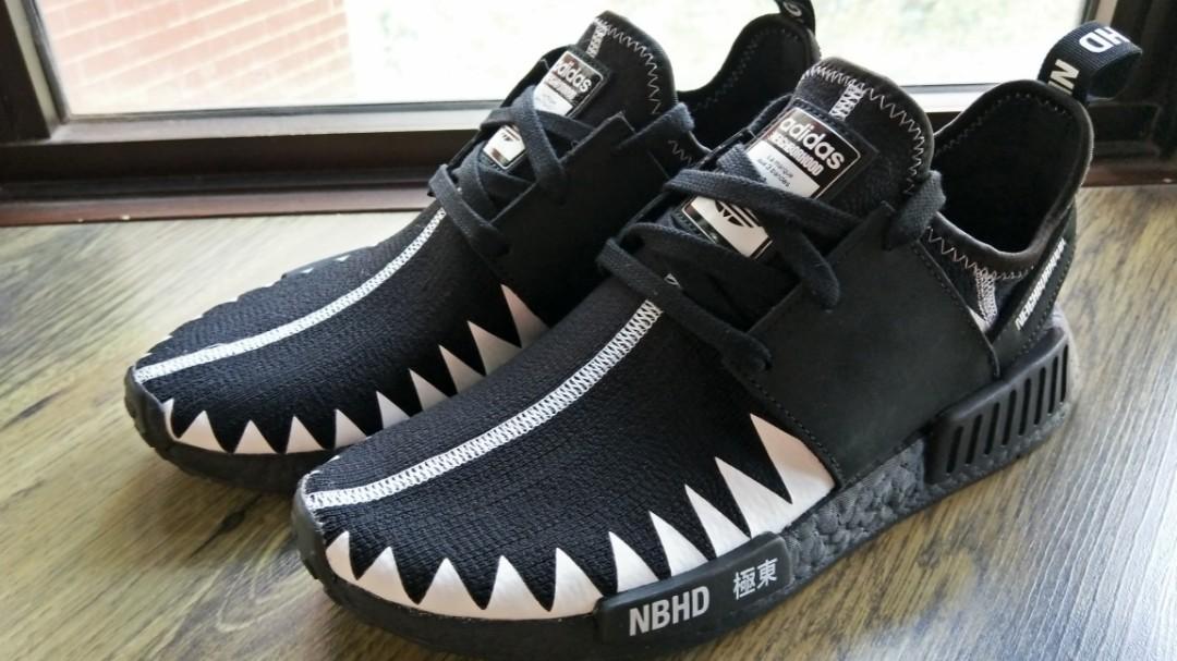 f6287e1e09c Adidas X Neighbourhood NMD R1 PK NBHD