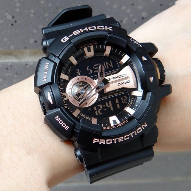 dd5147b109 Authentic Brand New Casio G-Shock GA-400GB-1A4 Black Rose Gold Men's Watch  GA400 GA400GB GA400-1a4 GA-400GB GA400GB-1, Men's Fashion, Watches on  Carousell