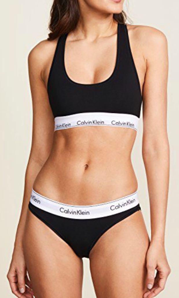 Authentic Unworn Calvin Klein Women s Underwear (Bralette   Bikini ... f467faf3e