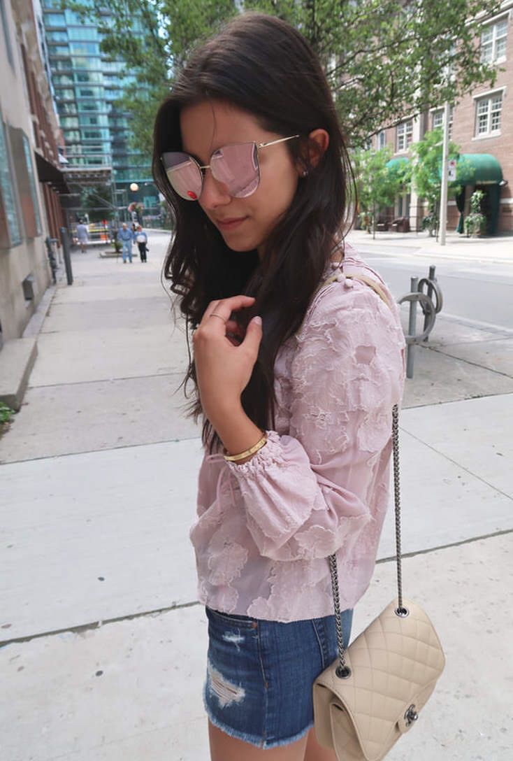 BNWT Aritzia Lourdes blouse
