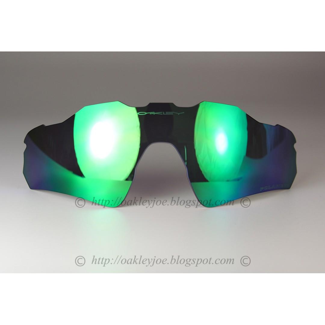 ca87834dbb Brand New Oakley Radar EV Asian Fit jade iridium polarized 101-488 ...
