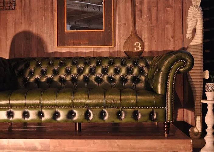 Chesterfield Sofa Forest Green Furniture Sofas On Carousell