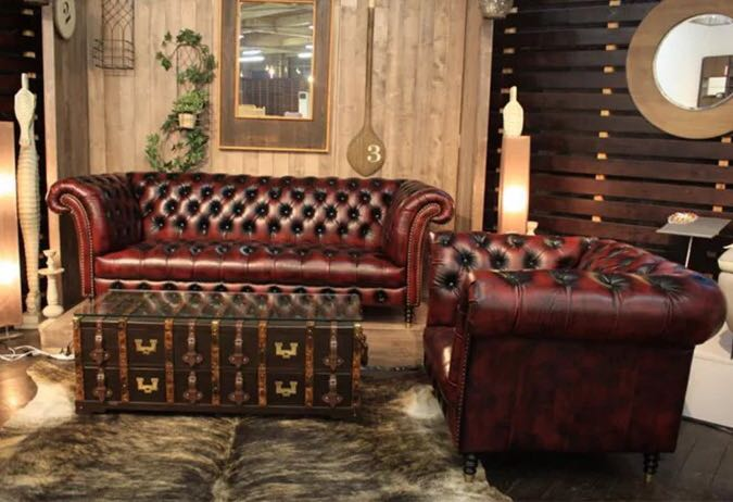 Chesterfield Sofa Oxblood Red Furniture Sofas On Carousell