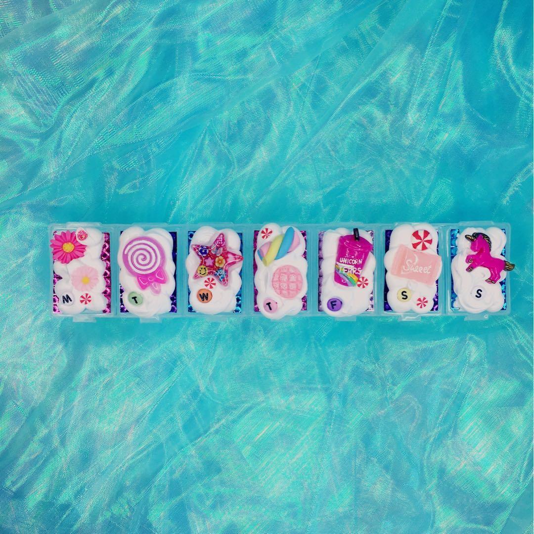 Cute Pill Case 🍭 by kiaorakawaii
