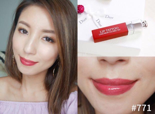 Dior Addict Lip Tattoo 771 Natural Berry Health Beauty