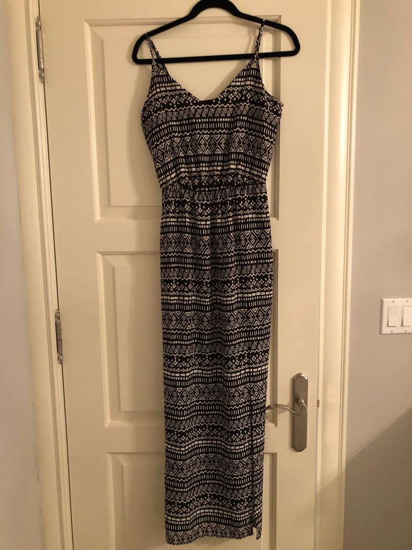 Forever 21 maxi dress Aztec size S