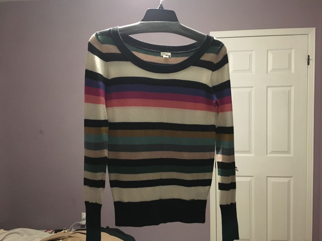 Garage Striped Sweater
