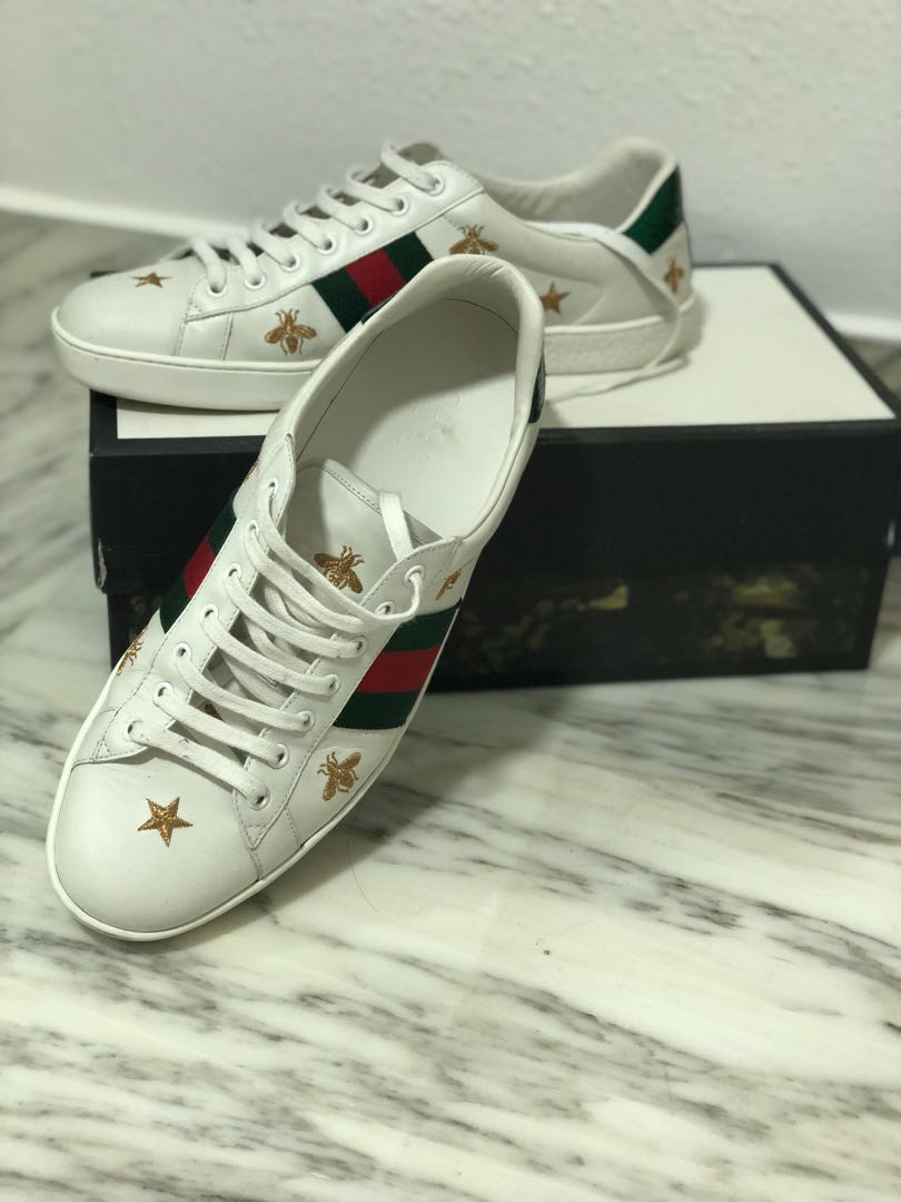 Gucci Ace Bee and Star, Men's Fashion