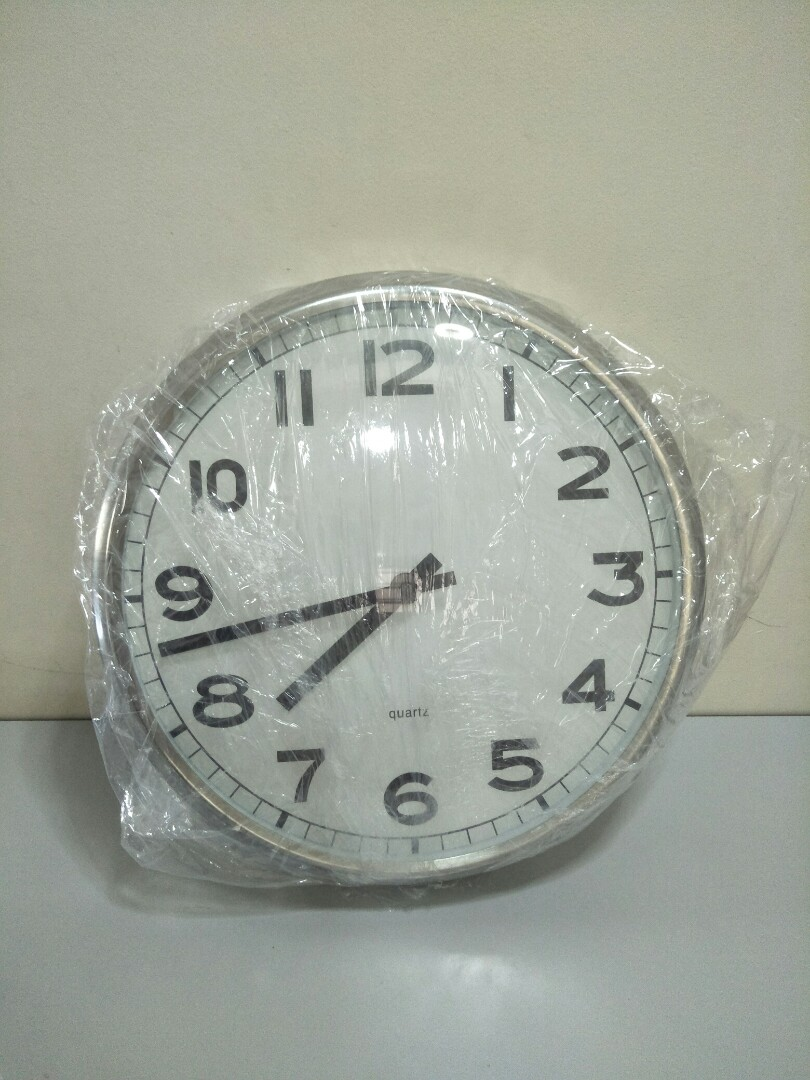 Ikea Pugg Wall Clock Furniture Others On Carousell