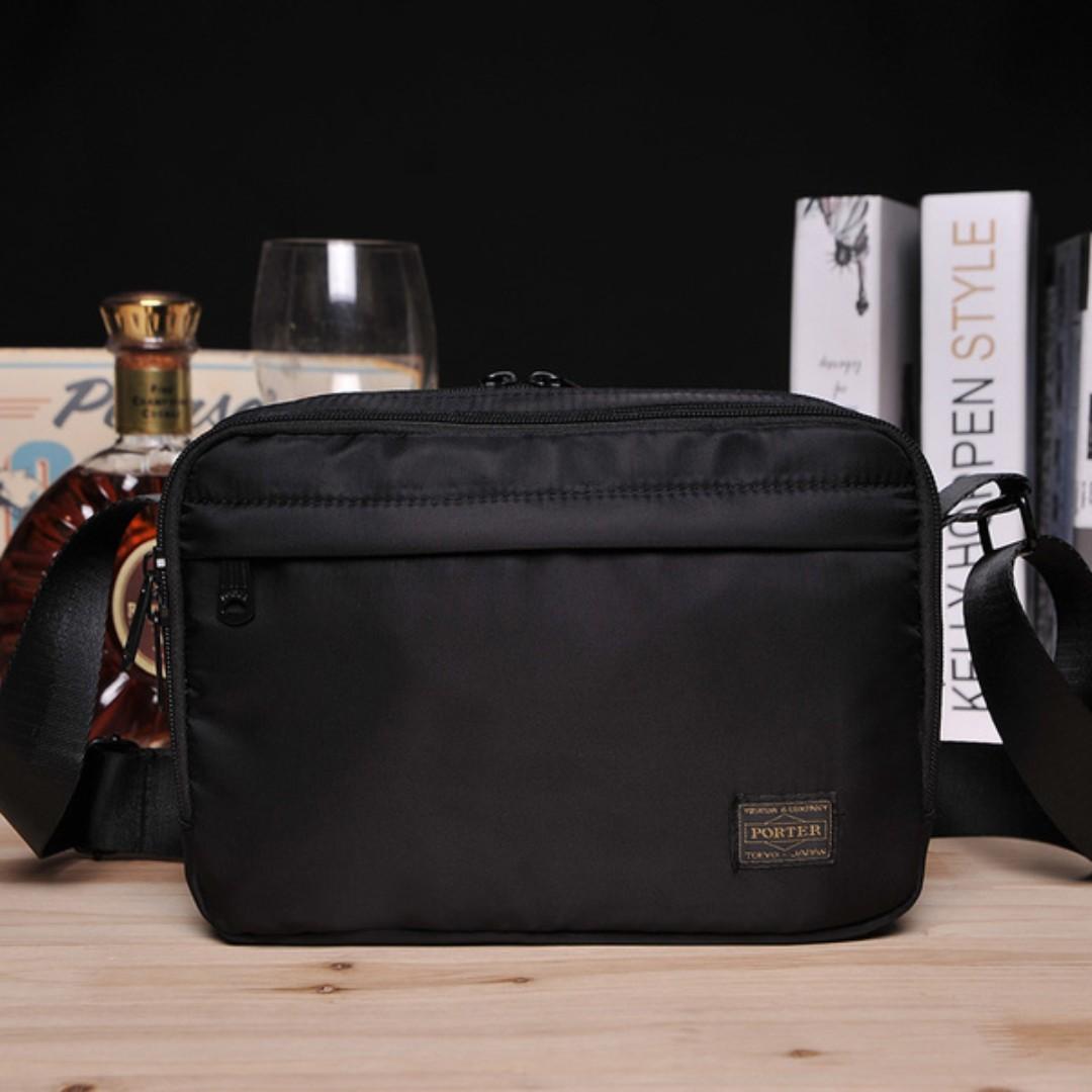 2aa9099be7 Japan Head Porter Sling Chest Shoulder Bag ( Black ) HBW 005