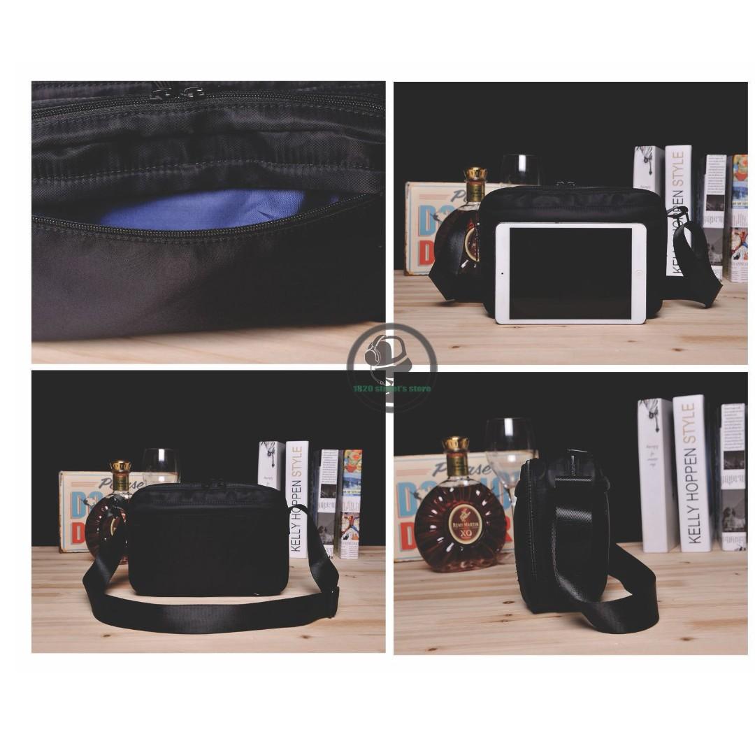 a3fd2ef21a Japan Head Porter Sling Chest Shoulder Bag (Blue) HBW 005