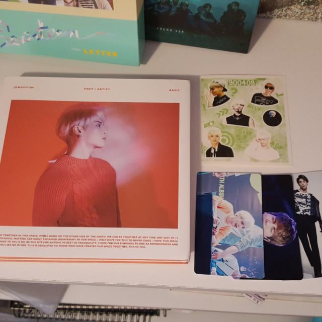 Jonghyun Poet Artist Album kpop (SHINee)