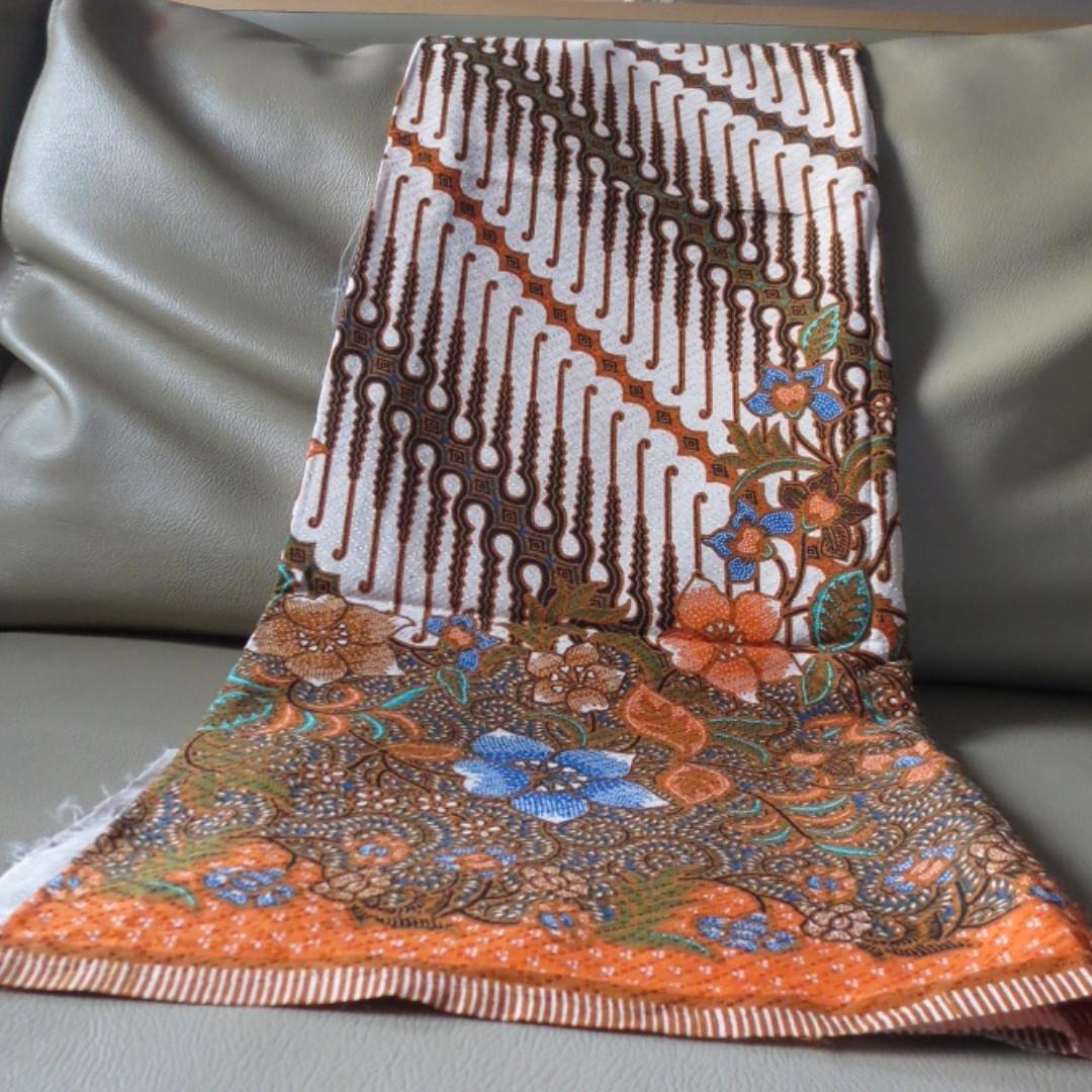 Kain Batik Sogan Motif Parang Coklat Daftar Harga Termurah Pria Tampan Dress Raema Klithik Ayu Red Kombinasi Maroon Xxl Print Solo Bunga Orange Olshop Fashion