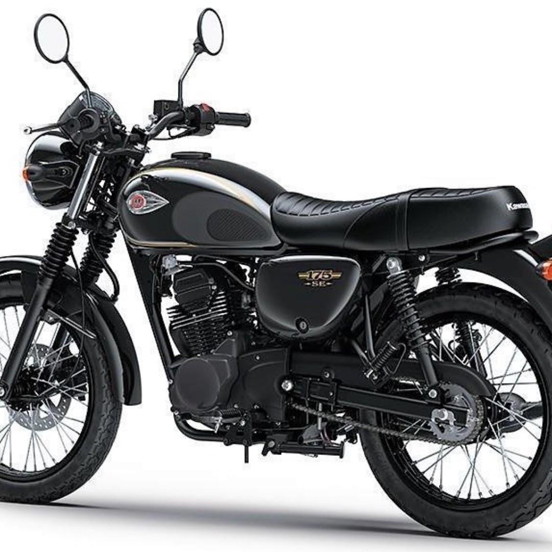 Kawasaki W175, Motorbikes, Motorbikes for Sale, Class 2B on