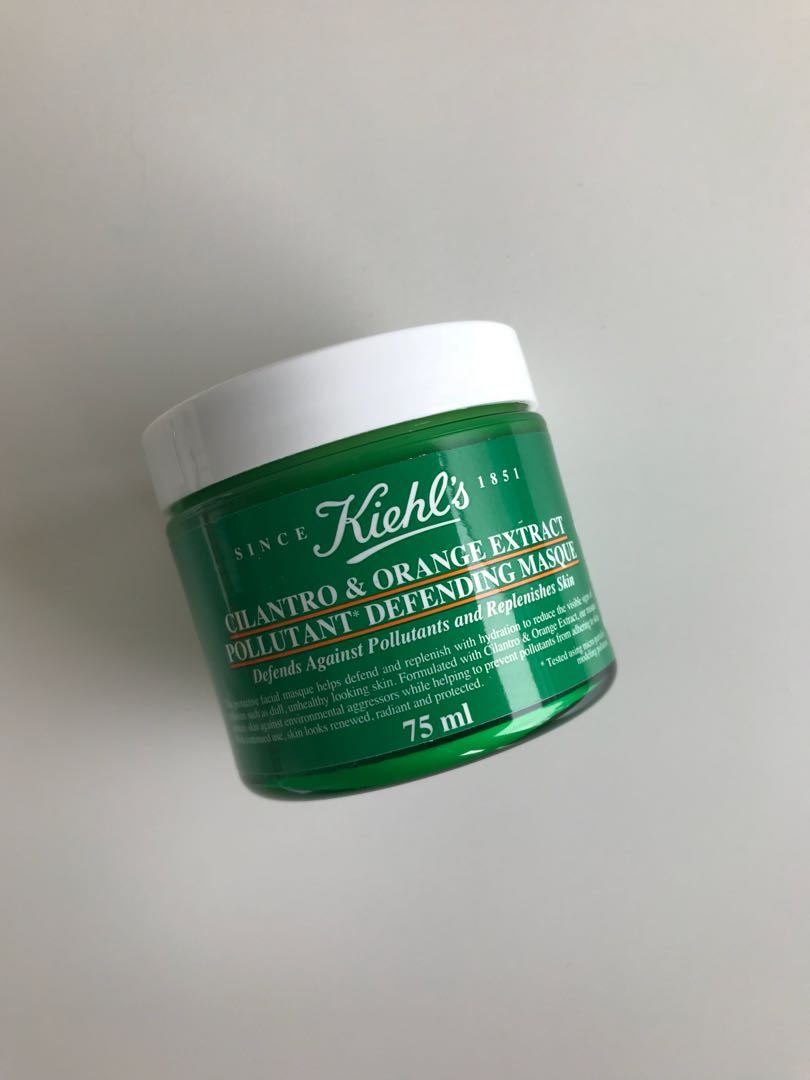 Kiehl's Cilantro & Orange Extract Pollutant Defending Masque