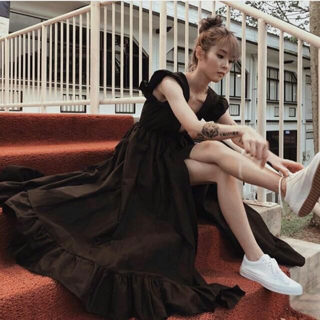 5d2a64bf5e0 Kissablebella Princess Polly Dress (BLACK)