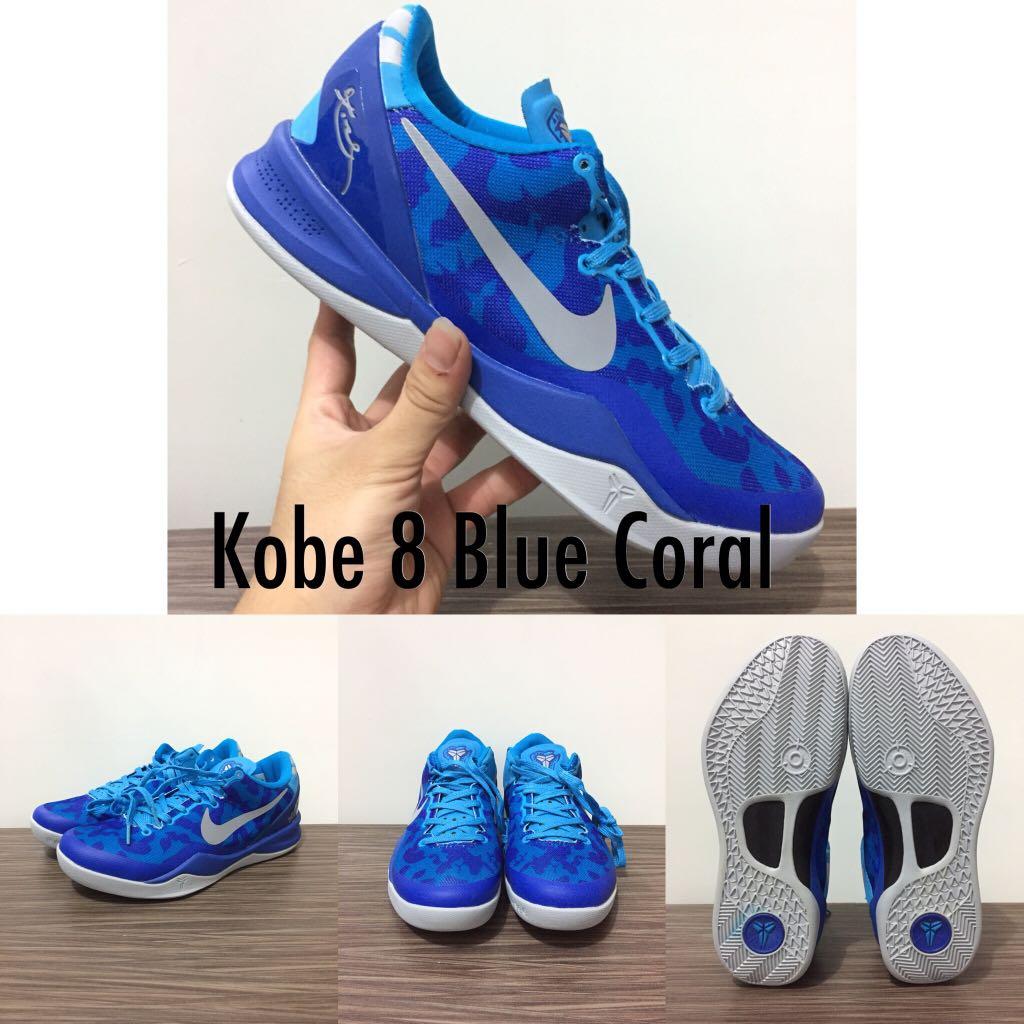 KOBE 8 LOW BLUE CORAL, Sports, Sports