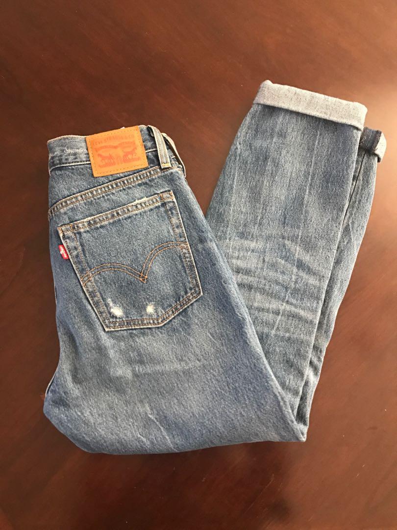 Levi's Wedgie Fit Medium Blue Wash Jeans