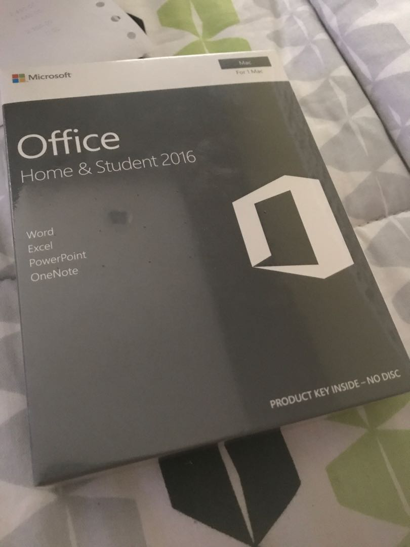 Mac Microsoft Office Home & Student 2016
