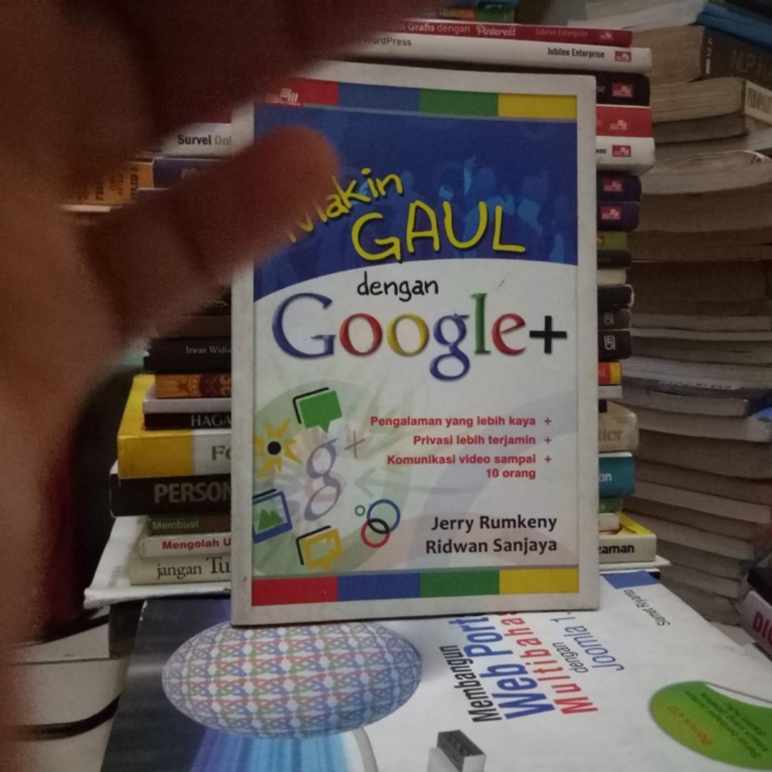 Makin Gaul Dengan Google Plus Buku Alat Tulis Pelajaran Di Photo