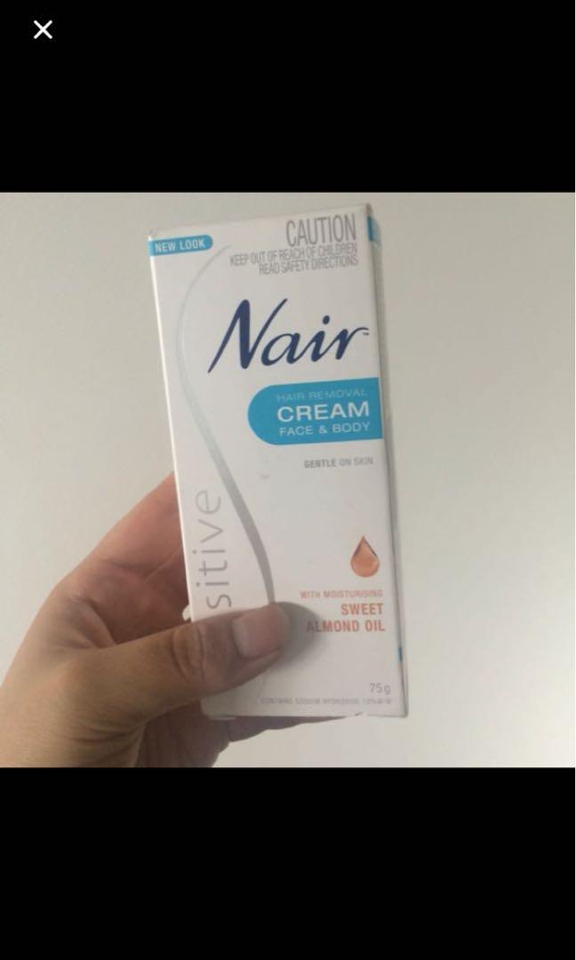 Nair shaving cream